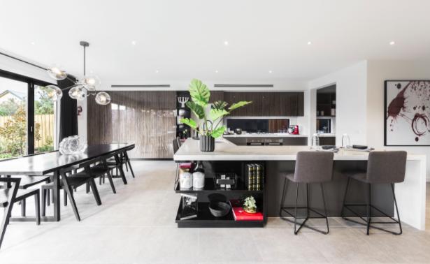 Contemporary kitchen design cabinets