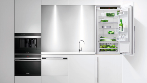 modern kitchen fridge