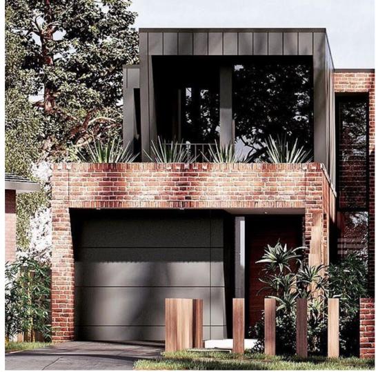 Double storey house design