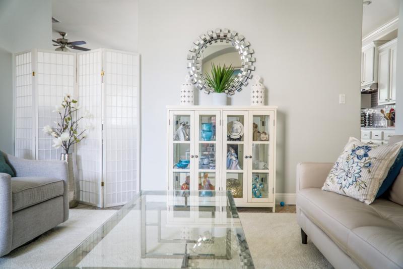Hamptons style interior