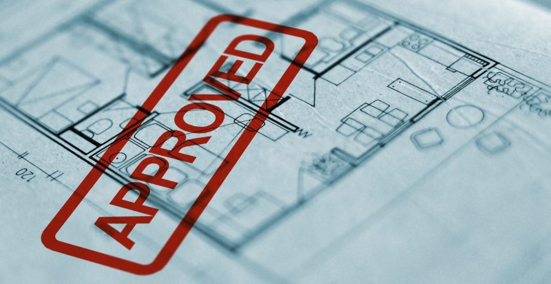 planning permit approved