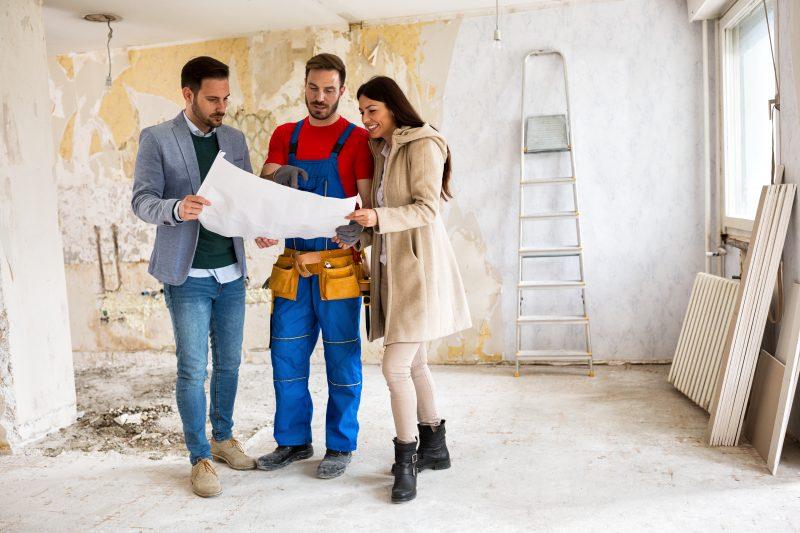 knockdown rebuild or renovate